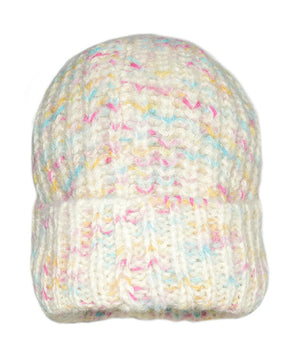 Invisible World 100% Alpaca Wool Hat or Beanie Space-Dyed Suri 100% Alpaca Wool Hat