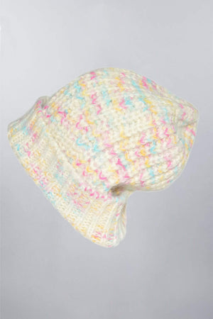 Space-Dyed Suri 100% Alpaca Wool Hat