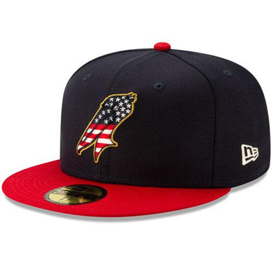 MYRTLE BEACH PELICANS 2019 STARS AND STRIPES 59FIFTY CAP