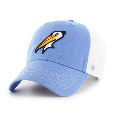 MYRTLE BEACH PELICANS 47 BRAND CIRCADIAN CLEAN UP CAP