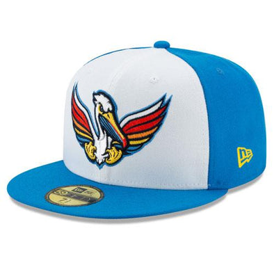 Myrtle Beach Pelicans COPA NEW ERA PELICANOS DE MYRTLE BEACH 59FIFTY ON-FIELD GAME CAP