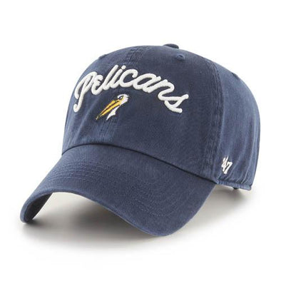 MYRTLE BEACH PELICANS 47 BRAND LADIES NAVY MELODY CAP