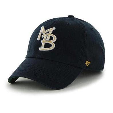 Myrtle Beach Pelicans 47 BRAND NAVY GAME FRANCHISE CAP