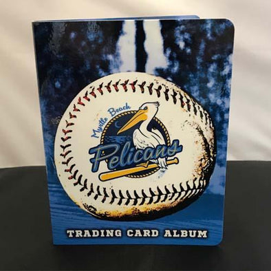 Myrtle Beach Pelicans CHOICE MARKETING TEAM SET ALBUM