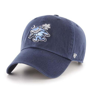 Myrtle Beach Pelicans 47 BRAND YOUTH NAVY RALLY SHARK CLEAN UP