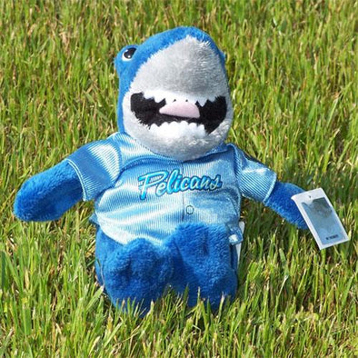 Myrtle Beach Pelicans MASCOT FACTORY MASCOT RALLY SHARK DOLL
