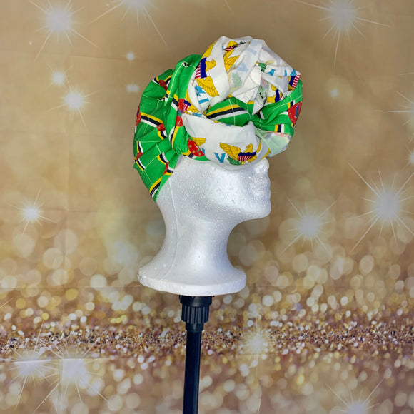 Island Vybe Collection- Split Islands Headwrap PREORDER