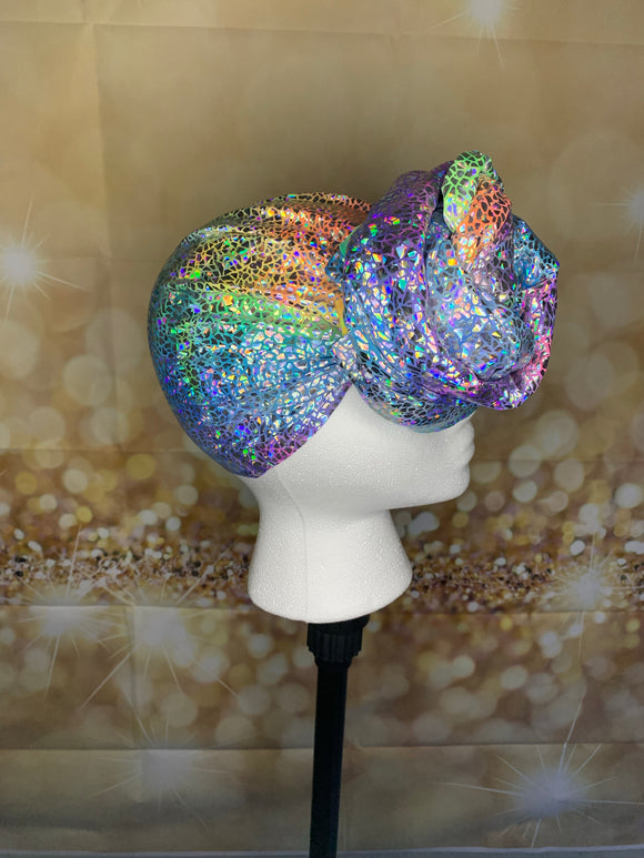 Glitz and Glam-Tie Dye Headwrap