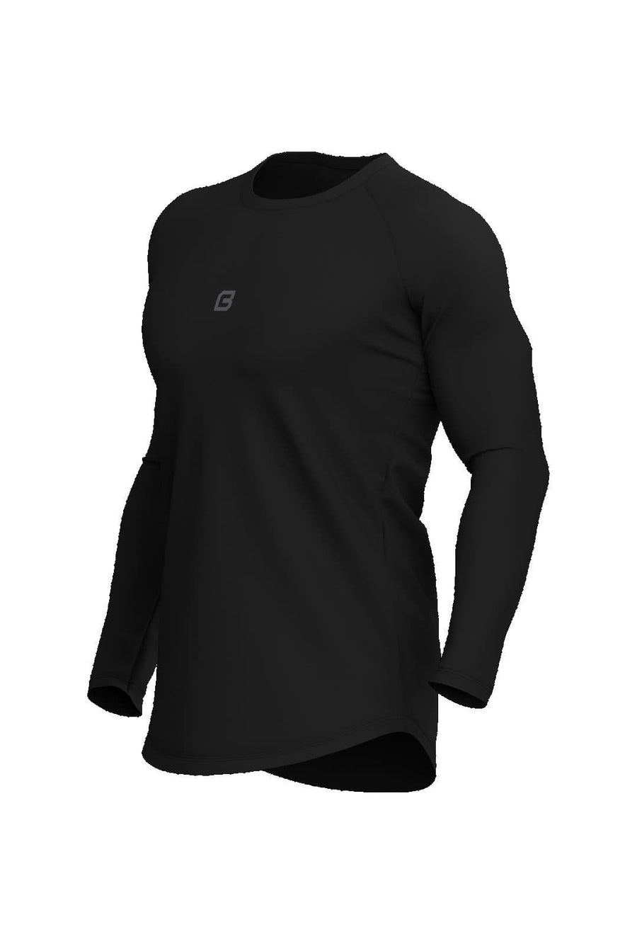Origin Performance Long Sleeve - Midnight Black - Bodcraft