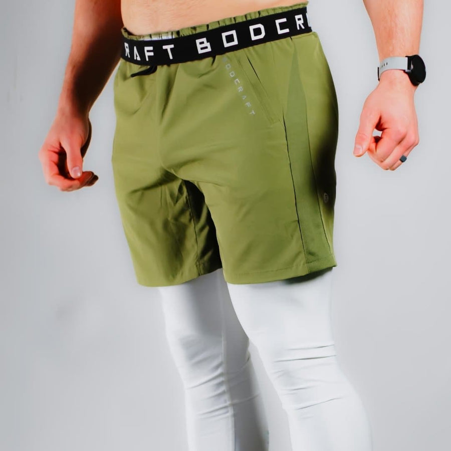 Origin Performance Shorts - Army Green - Bodcraft