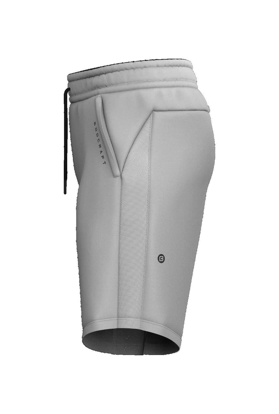 Origin Performance Shorts - Pebble Grey - Bodcraft