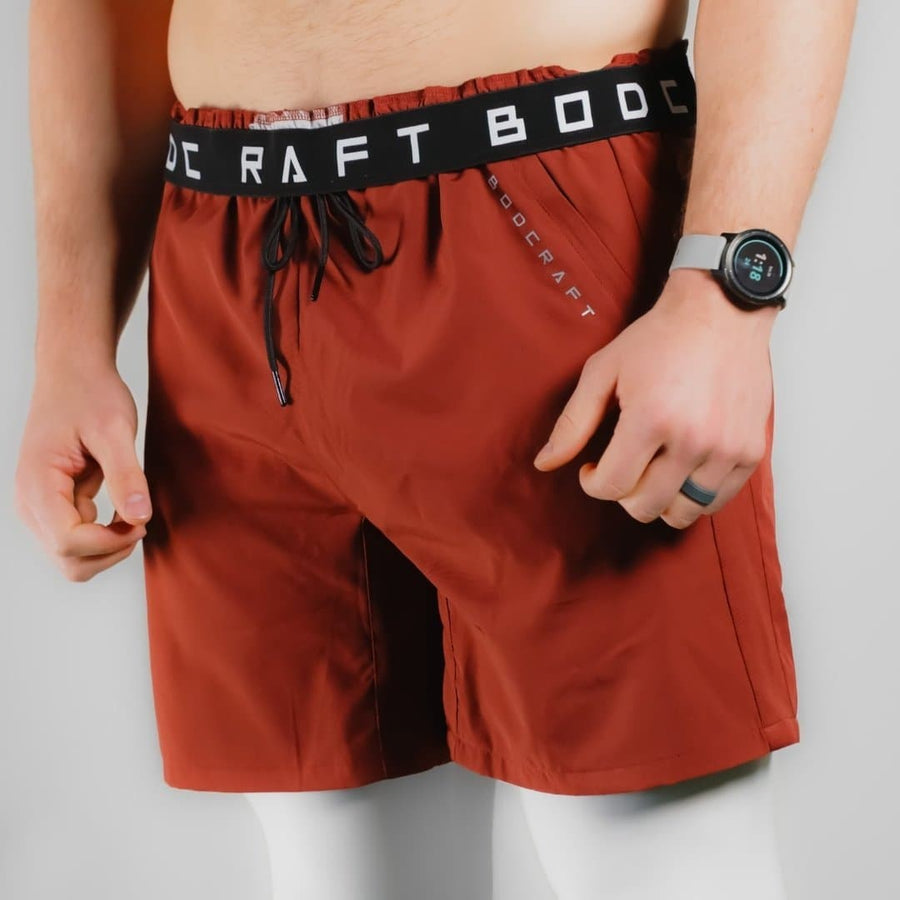 Origin Performance Shorts - Persian Red - Bodcraft