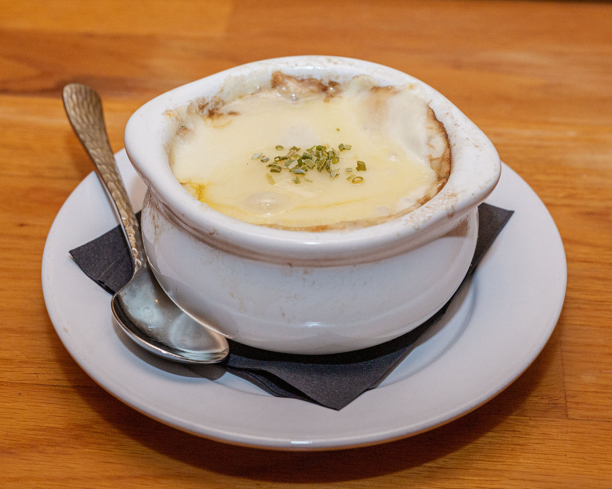 Old World French Onion Soup ~Crock $7.95 (GFO)