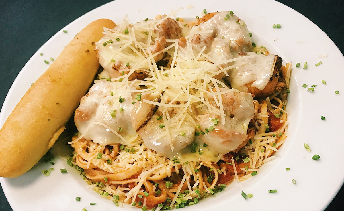 Chipotle Chicken Parmesan  $19.95 *A Pangea Speciality