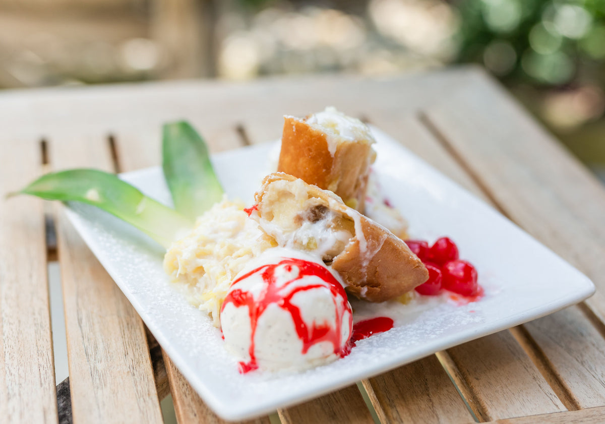 Fried Banana Cheesecake $10.95