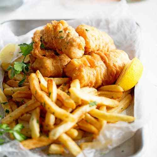 Fried Fish & Fries $9
