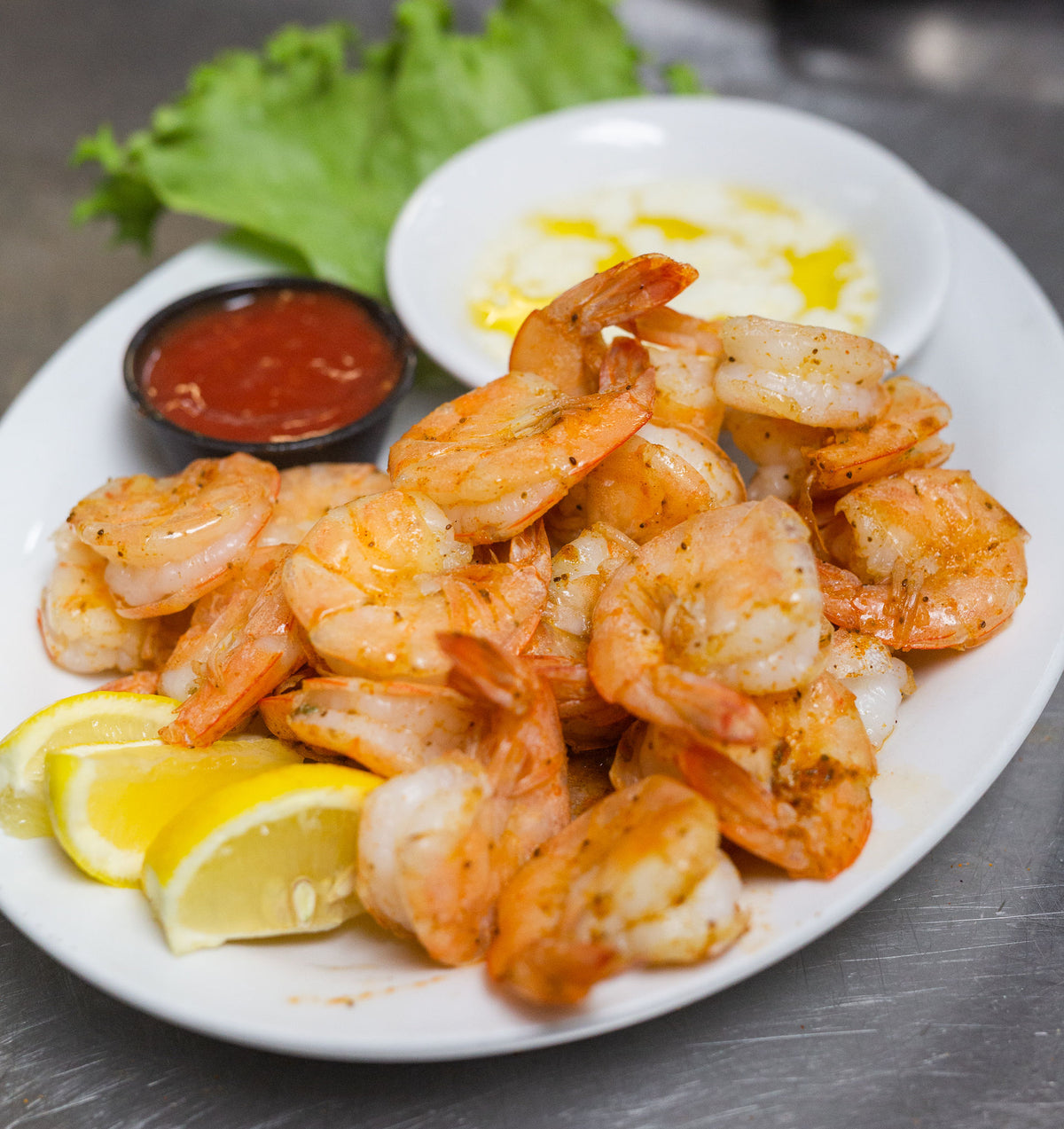 1lb Peel & Eat NC Steamed Shrimp *Market Price