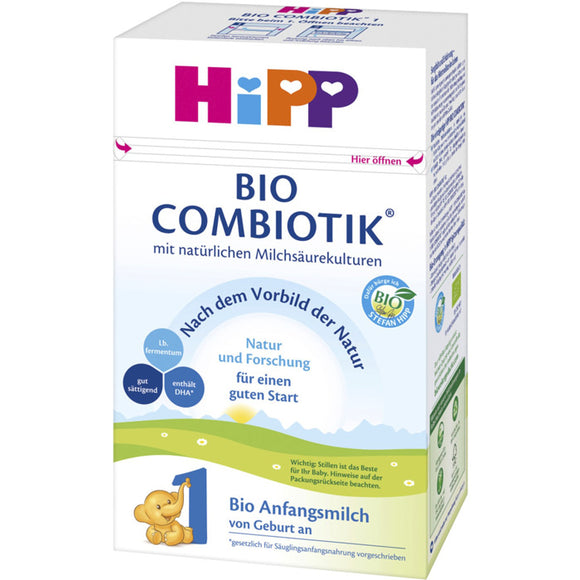 Hipp German stage 1 Infant formula (0+ months) NEW DHA