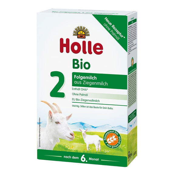 Holle stage 2 Follow on goat formula (6+ months)