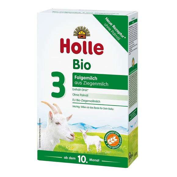 Holle stage 3 Growing up goat formula (10+ months)