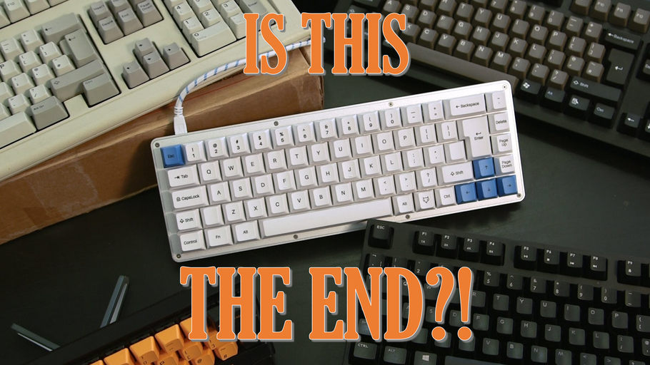 The Death of Hobbyist Mechanical Keyboards?