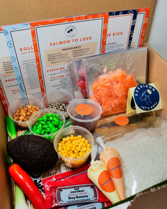Salmon To Love and Spicy Tuna Kit