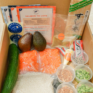 Salmon to Love and Avocado & Cucumber Kit
