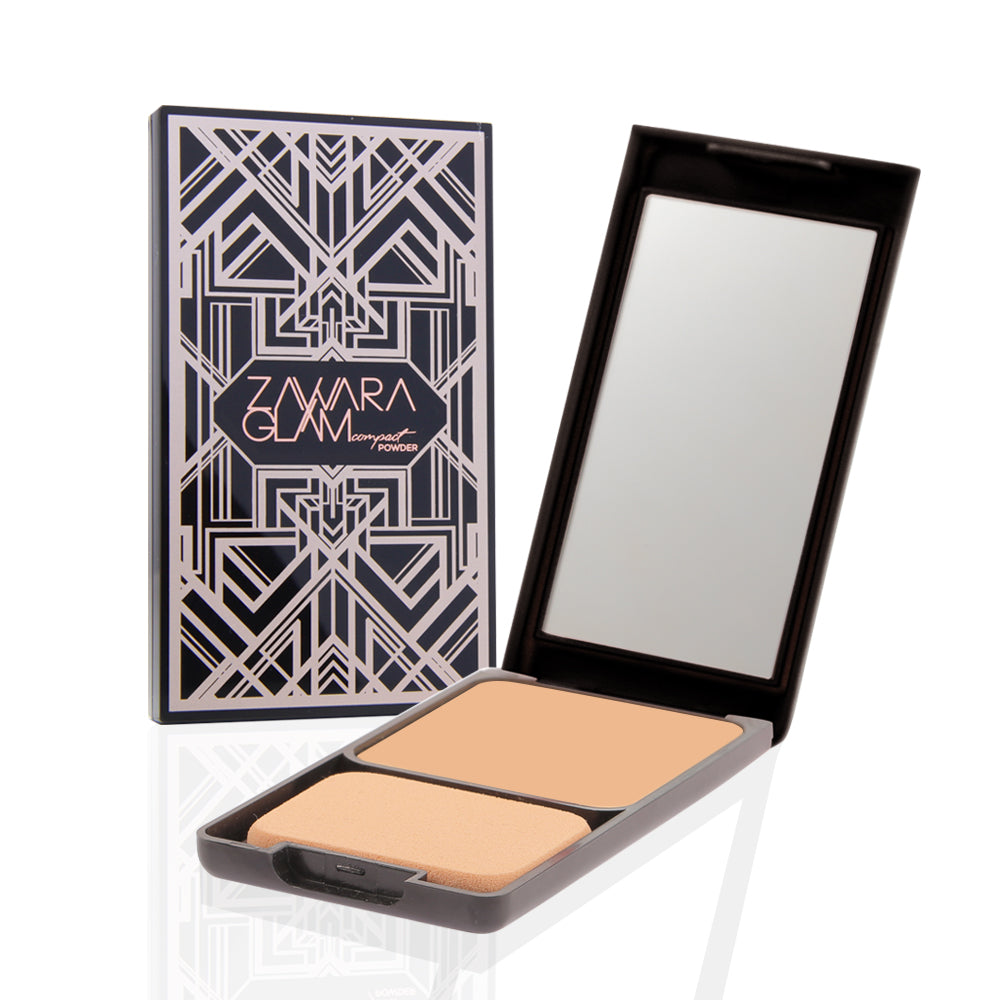 Full Coverage Compact Powder 03 - Natural