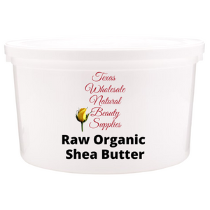 Raw Virgin Organic Shea Butter
