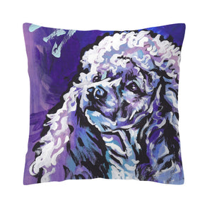 Watercolor Painting Dog Pillow Case/Cushion Cover