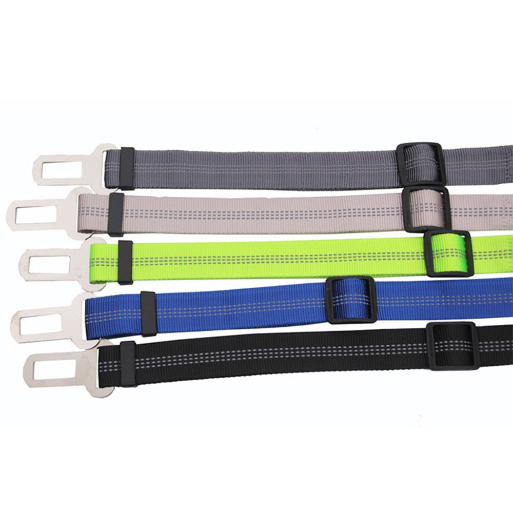 Upgraded Adjustable Dog Car Safety Seat Belt