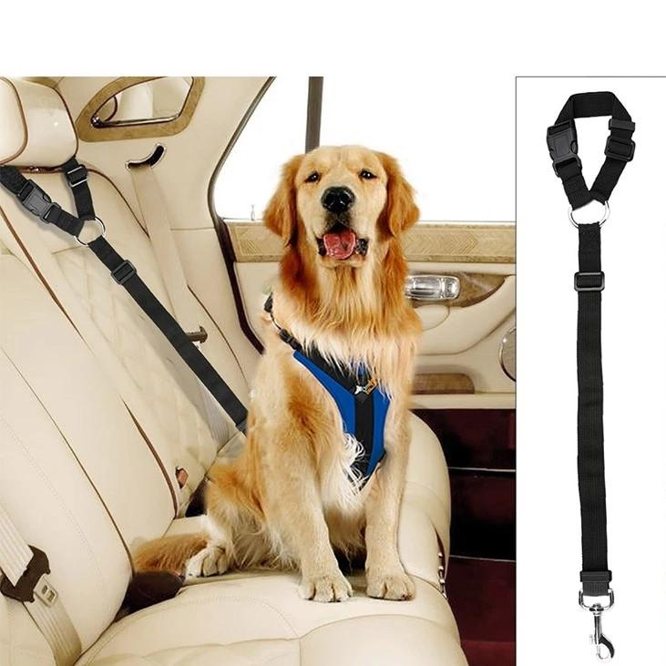 Adjustable Pet Dog Car Seat Belt Safety Lead for Car