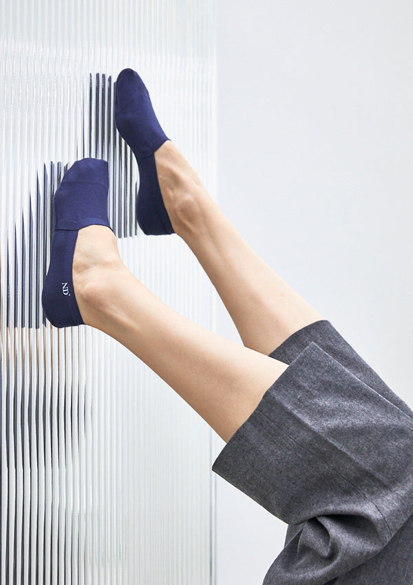 Sleek No Show Socks-No Show-ONDO-Small-Midnight Blue-ONDO