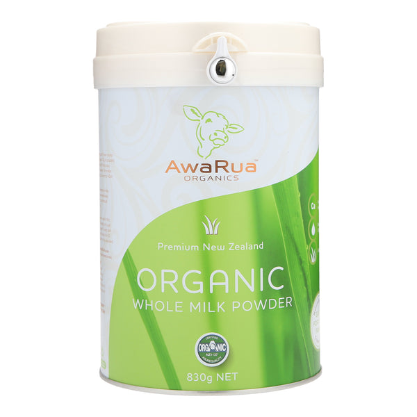 AwaRua Organics Whole Milk Powder