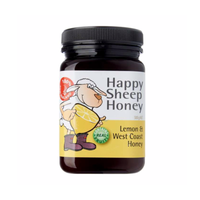 Happy Sheep Honey Lemon and West Coast Honey