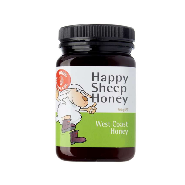 Happy Sheep Honey West Coast Honey