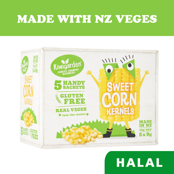Kiwigarden Freeze Dried Baby Snacks Sweet Corn Kernels