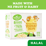 Kiwigarden Freeze Dried Baby Snacks Banana and Honey Yoghurt Drops