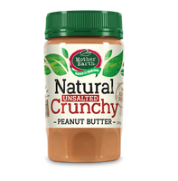 Mother Earth Peanut Butter Unsalted Crunchy