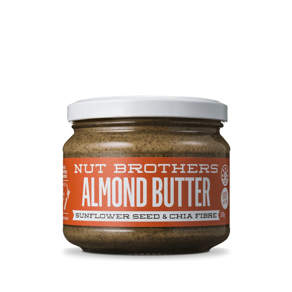 Nut Brothers Almond Butter with Sunflower Seeds and Chia Fibre