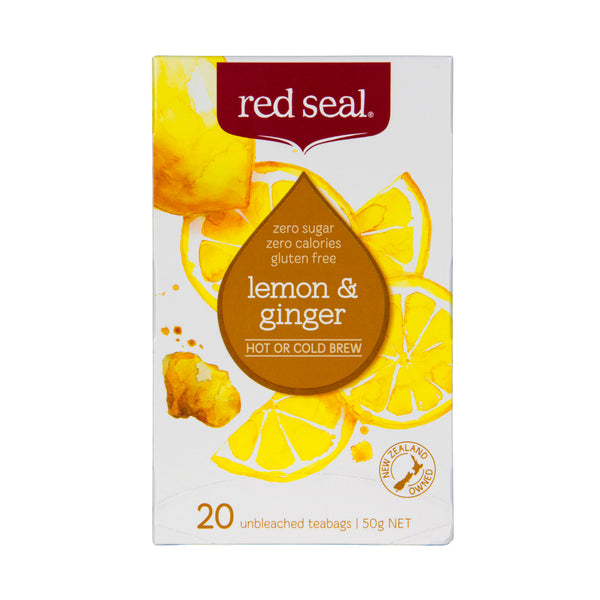 Red Seal Lemon and Ginger Fruit Tea 20's