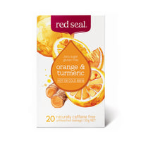 Red Seal Orange and Turmeric Tea 20's