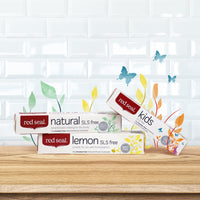 Red Seal Toothpaste Natural Lemon SLS Free