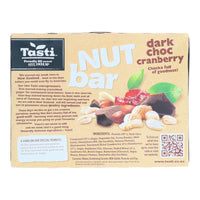 Tasti Nut Bars Dark Choc Cranberry