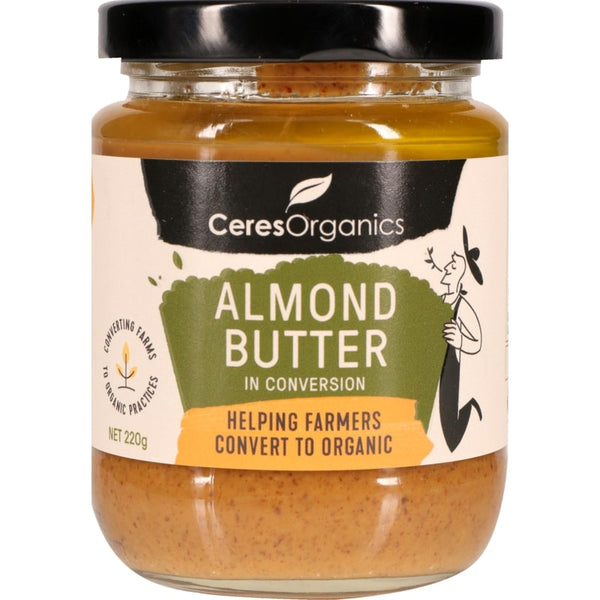 Ceres Organics Almond Butter 220g(In Conversion)