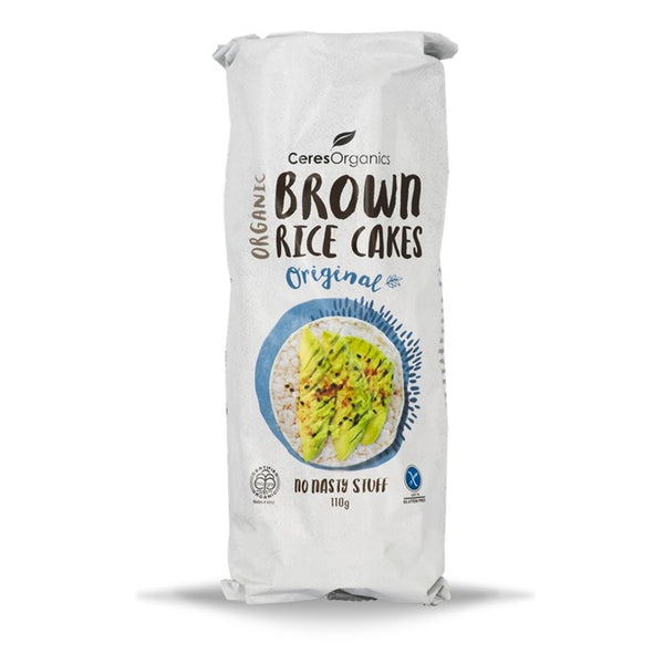 Ceres Organics Brown Rice Cakes Original