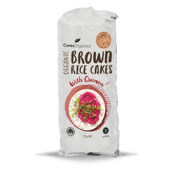 Ceres Organics Brown Rice Cakes with Quinoa