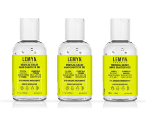 2oz LEMYN ORGANICS HAND SANITIZER - 3 Pack