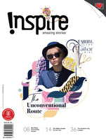 Inspire Magazine 2020 Edition - 2 single + 1 double issues (for 13 y/o+)