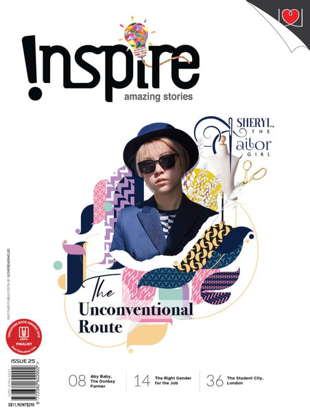 Inspire Magazine 2020 Edition - 4 issues (for 13 y/o+)